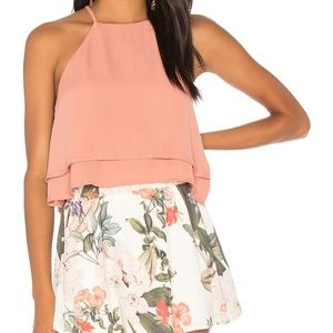 Show Me Your MuMu Evie Layered Cropped Tank Top